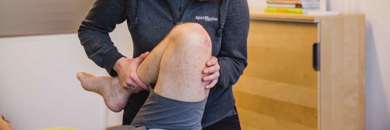 Oefentherapie revalidatie Fysiotherapie Sport&Spine Nieuwe knie